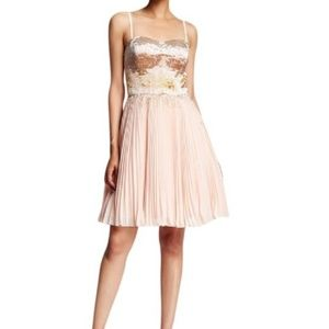 Ted Baker Pink beaded dress